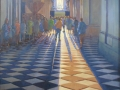 Afternoon shadows, St Pauls oil 80cmX80cm £1200.00