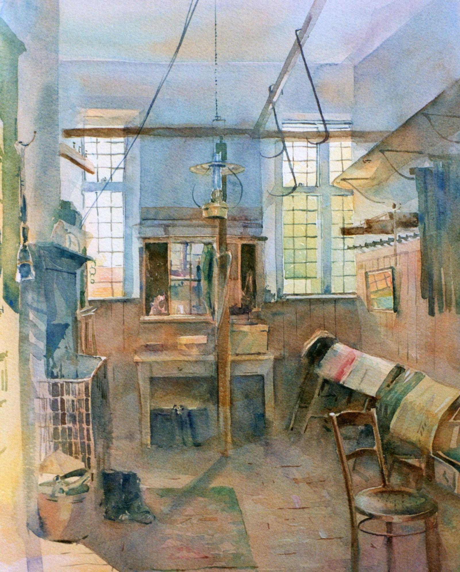 Calke Abbey Tack Room